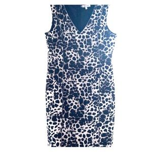 Leopard print dress by Jennifer Lopez